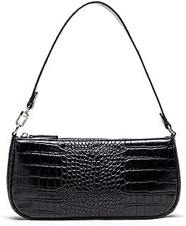 حقيبة كتف ماركة TOBOTO كلاسيكية كلاسيكية تحمل على شكل جلد التمساح حقيبة الكتف حقائب اليد ، محافظ تمساح مع سحاب إغلاق للنساء