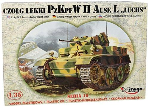 Mirage Hobby 35107 PzKpfw II Ausf. L Luchs avec Phrases