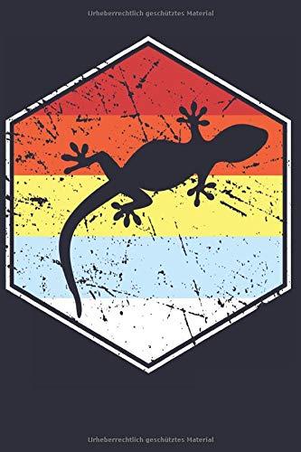 Mein Gecko Notizbuch: Ein lustiges Notizbuch für alle Gecko Liebhaber
