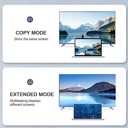 Nuobi Cable HDMI a HDMI, Cable HDMI a HDMI 4Kx2K para TV para computadora(2M)