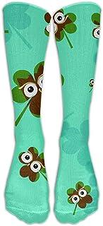 iuitt7rtree, Día de San Patricio Unisex Fun Crew Socks Medias para niños y niñas calcetines7752
