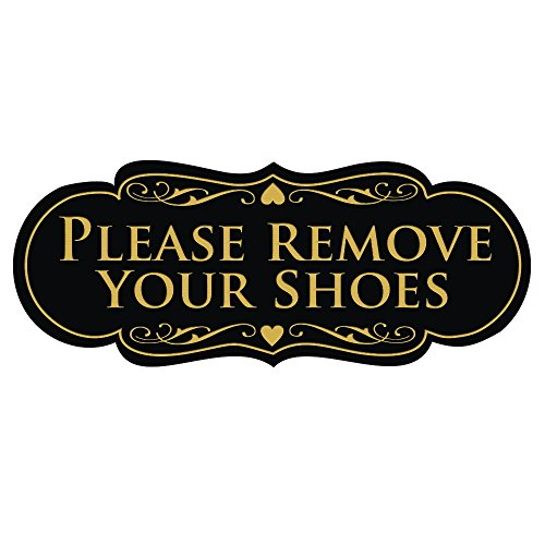 All Quality Designer Please Remove Your Shoes Thank You Sign -...