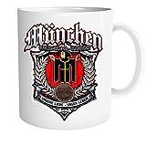 Uglyshirt89 Für Immer München Tasse | Kaffeetasse Teetasse Geschenk Sport Fussball Stadt Fan