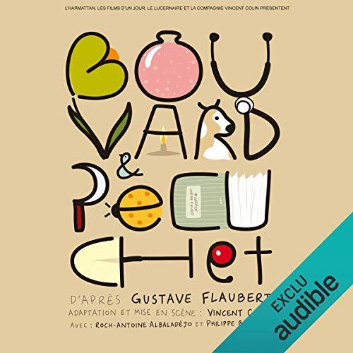 Bouvard et Pécuchet audiobook cover art