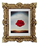 Cuadro de pared Salvador Dali, diseño de rosas meditativas, 45 x 38 cm