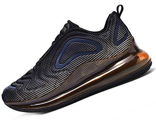 SINOES Mujer 720 Caña Baja Gimnasia Ligero Transpirable Casuales Sneakers de Exterior y Interior Zapatillas Deporte Zapatillas Deportivas para Correr Negro Gold 39 EU