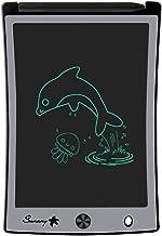 Sunany 8,5 Pulgadas Tablets de Escritura LCD, Tableta de Dibujo LCD con Teclas Borrables y Bloqueo de Pantalla, Adecuada para el hogar, Escuela, Oficina (Negro)