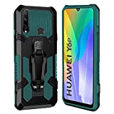 xinyunew Cover Huawei Y6P 2020,Heavy Duty Cover Compatibile per Huawei Y6P 2020, Belt Clip...