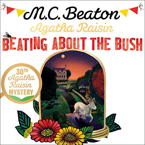 『Agatha Raisin: Beating About the Bush』のカバーアート