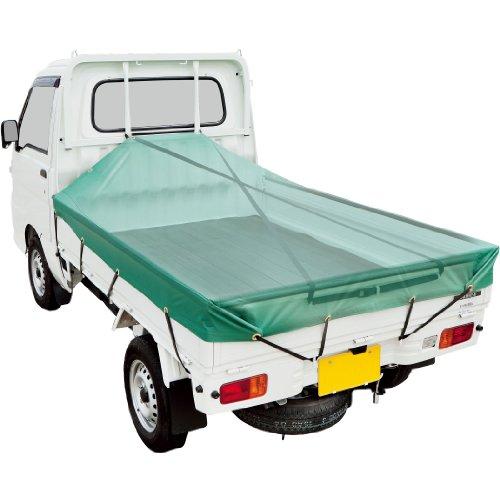 ボンフォーム 荷台スロープベルト 軽トラック用 ブラック 平帯タイプ 5.7mx2.5cm 6664-01BK