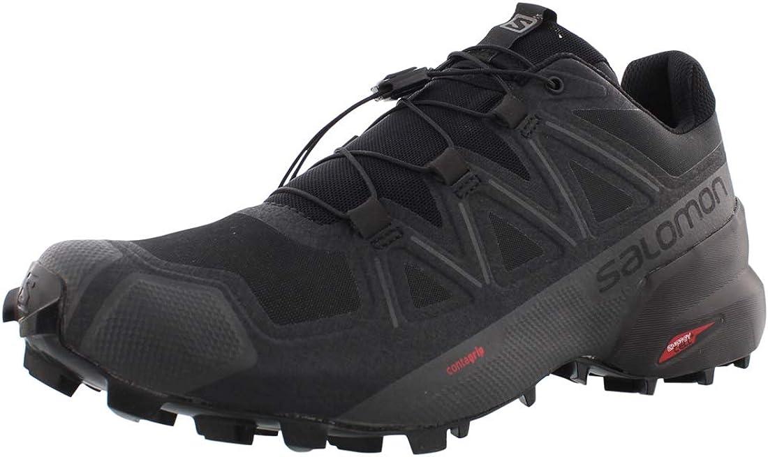 Superlatite Salomon Speedcross 5 Men's Running Trail Complete Free Shipping Shoes