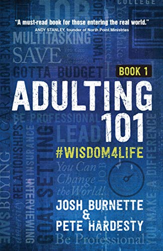 Adulting 101: #Wisdom4Life (Hardcover) – A Complete Guide on Life Planning, Responsibility and Goal Setting, Perfect Gift for High School & College Graduation (Teenagers, Friends, Family, Graduates)