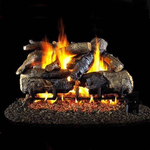 Review Of Peterson Real Fyre 30-inch Charred American Oak Gas Log Set With Vented Natural Gas Ansi C...