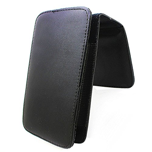 XUAILI Smartphones Holster Universele Verticale Stijl Lederen Hoesje met Riem Clip, voor IPhone 6 Plus & 6S Plus/Galaxy Note 4 / Note 3 (Zwart), Zwart
