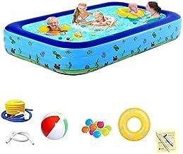 Thicken Kid Tub Anti-Slippery Opvouwbaar Zwembad for kinderen for de zomer Partij van de Familie Verwisselbare met Pump (C...