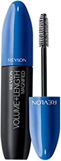 Revlon Volume + Length Magnified Mascara - Waterproof, Blackest Black, 0.28 fl oz