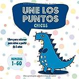 Une los puntos - Chicos: Libro para colorear para niños a partir de 5 años (Unir puntos...