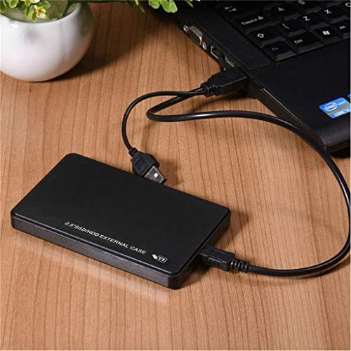 Rugged USB3.0 1TB External Hard Drives Portable HDD Drop Shock Dust Rain Resistant for Computer Desktop Workstation Laptop