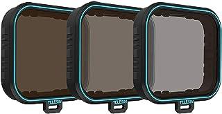 AuyKoo filtr ND do Gopro, 3-pak zestaw ochraniaczy na soczewki ND (ND4 ND8 ND16) filtr o neutralnej gęstości dla GoPro Her...