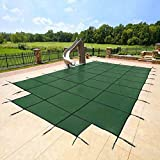 YARD GUARD 18'x36' Green Mesh - CES Rectangle Inground Safety Pool...