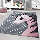 alfombra unicornio redonda