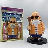 YIGEYI Dragon Ball Z Master Roshi Kame Sennin Anime Acción Figura 14 cm Figuras de PVC Figuras Colec...