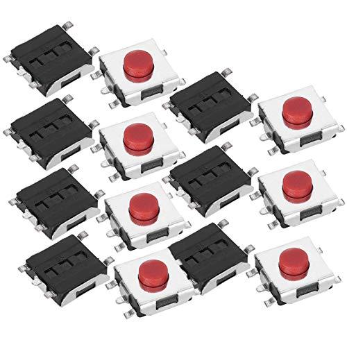 Micro Tactile Switch, 6 x 6 x 3,1 mm langlebiger Micro Switch, reibungslos wasserdichte elektronische Produkte für die Elektronikindustrie
