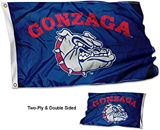 College Flags and Banners Co. Gonzaga Bulldogs Double Sided Flag