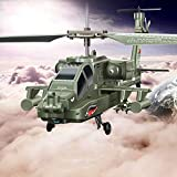 Weaston S109G imitación de Combate Militar de inyección de Gotas Resistente con el Regalo del Juguete giroscopio RC helicóptero de Control Remoto Aviones no tripulados Apache Aviones Juguete de