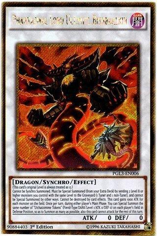 Yu-Gi-Oh!! - Phantasmal Lord Ultimitl Bishbaalkin (PGL3-EN006) - Premium Gold: Infinite Gold - 1st Edition - Gold Secret Rare