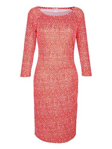 Alba Moda Damen Kleid Koralle 38 Baumwolle