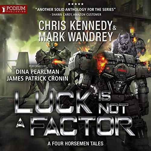 Luck Is Not a Factor audiobook cover art