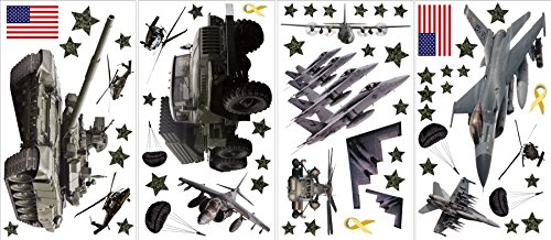 Wall Pops ST1289 Military Wall Sticker