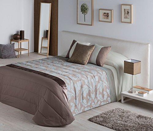 Stilia Romeu Couette Jacquard et taies d'oreiller pour lit de 105 cm Multicolore