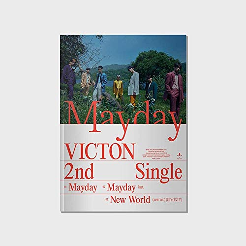 Play M Entertainment VICTON - MayDay (2nd Single Album) Album+Extra Photocards Set (Venez ver.)