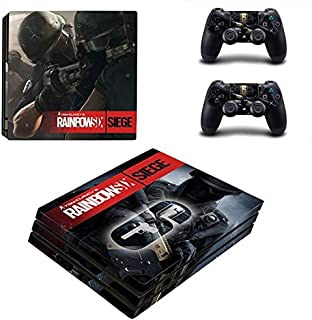 PS4 Pro Console and Controller Skin Set - Rainbow six Siege Gaming Vinyl Skin Cover by Mr Wonderful Skin