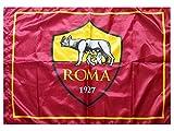 Bandera Roma original 100 x 150 oficial roja con licencia escudo y año fundación 1927 + ojal para bastón