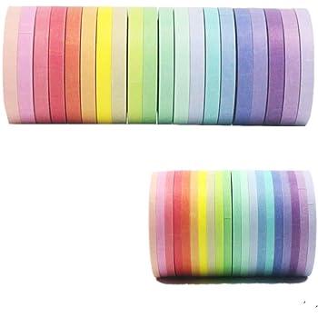 Washi Tape Set of 48 Rolls,Decorative Washi Masking Tape Set for DIY Crafts and Gift Wrapping