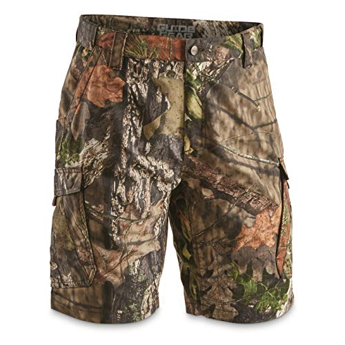 Guide Gear Men's Ripstop Camo Work Shorts, Mossy Oak Break-Up Country, 34