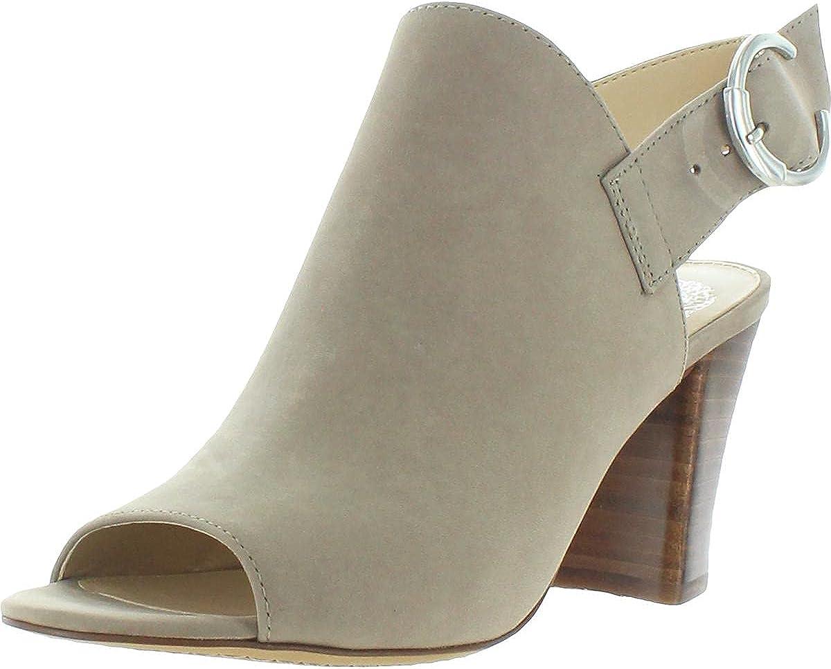 Vince Camuto Womens Krestella Leather Slingback Sandals Taupe 5.5 Medium (B,M)