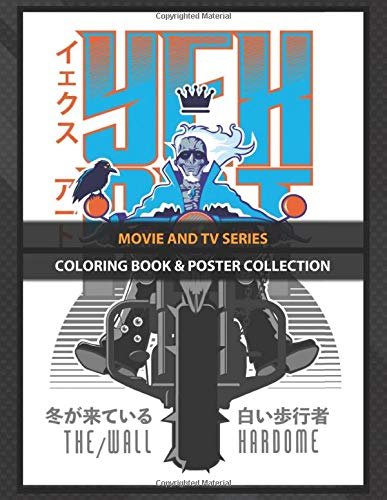 Coloring Book & Poster Collection: Movie And Tv Series White Rider Vintage Tv Shows