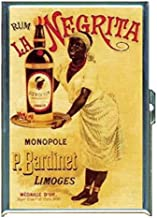 La Negrita Rum Black Memorabilia Stainless Steel ID or Cigarettes Case (King Size or 100mm)