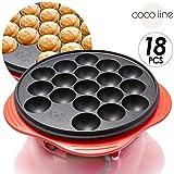 【coco iine】ホットプレート たこ焼き器 18個用 フッ素樹脂加工
