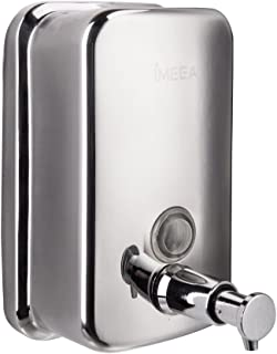 IMEEA Soap Dispenser Wall Mounted 18/10 Stainless Steel Manual (28oz/800ml)