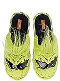 Dr. Seuss Men's Slip on Grinch Slippers (11-12) Green