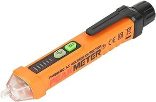 Akozon PEAKMETER NCV Probador Detector de Voltaje Sin-Contacto con Indicador LED AC12-1000V