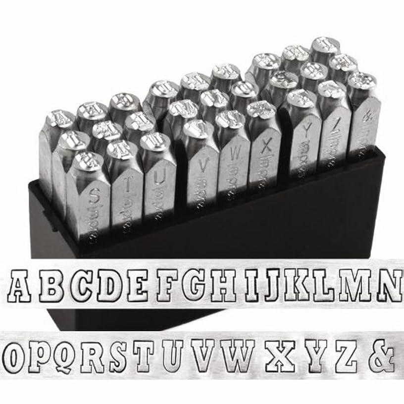 ImpressArt Varsity Uppercase Letter Metal Stamps Set ivf7044301585733