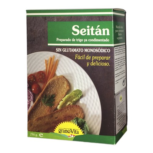 Granovita Carnes Vegetales Seitan - 250 gr