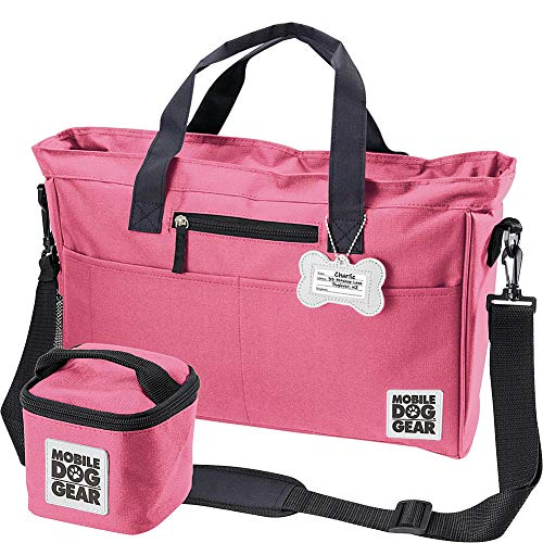 Overland Dog Gear Gear Day Away Tote Bag (Pink)