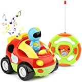 TOY Life Remote Control Car for Toddlers Remote Control Car for Boys 3-5 - Fast Mini Race Car Toys for 2 Year Old Boys - Baby Remote Control Toy-Toddler Boy Toy Gifts for 2 3 4 5 Year Old Boys Girls